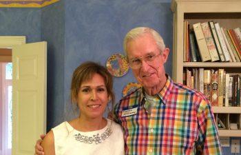 Con el Dr. McGlamry , pionero y Maestro fundador del prestigioso Podiatry Institute (EEUU) Cirugía-Podologica-Clinica-Mª-del-Mar-Ruiz-6-Atlanta-McGlamry-
