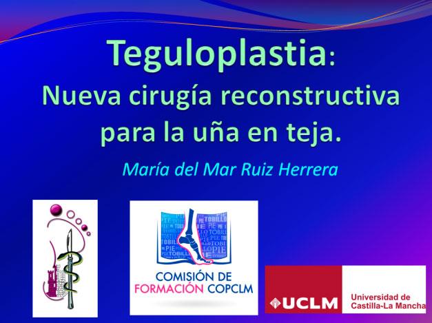 Presentación de la teguloplastia en la Facultad de Medicina
